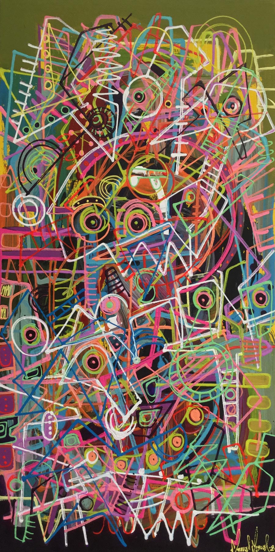 Sin Galeria, De la serie «El caos lineal»