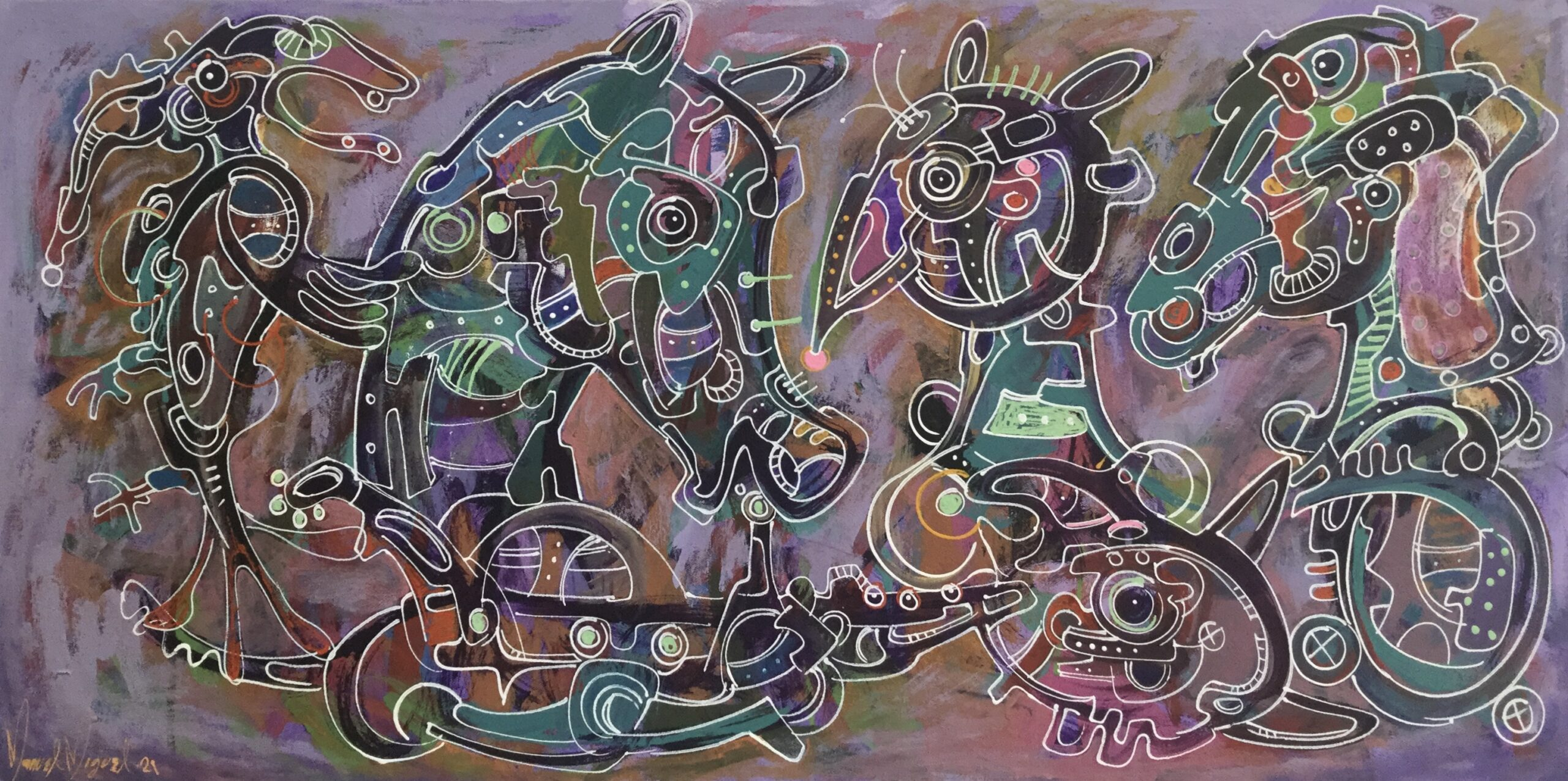 Sin Galeria, De la serie «La granja oaxaqueña»
