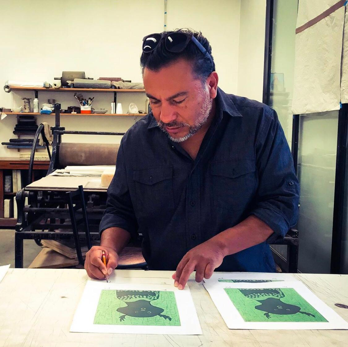 Sin Galeria, José Santos | El arte como concepto debe ser algo personal