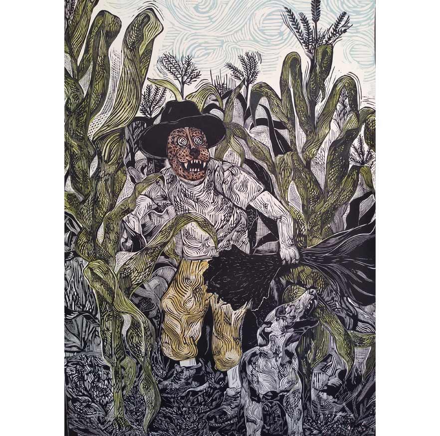 GUARDIANES DEL MAÍZ 1, Sin Galeria, Alvaro Medina