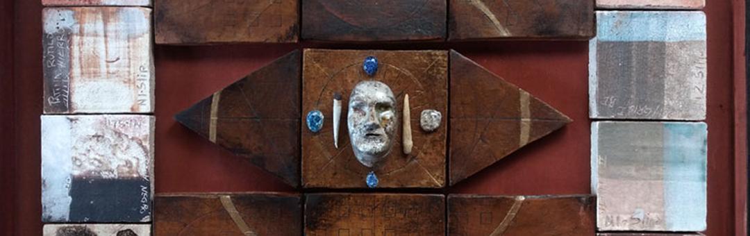 Sin Galeria, 'El Alquimista'   El místico collage 3D de Ivonne Kennedy
