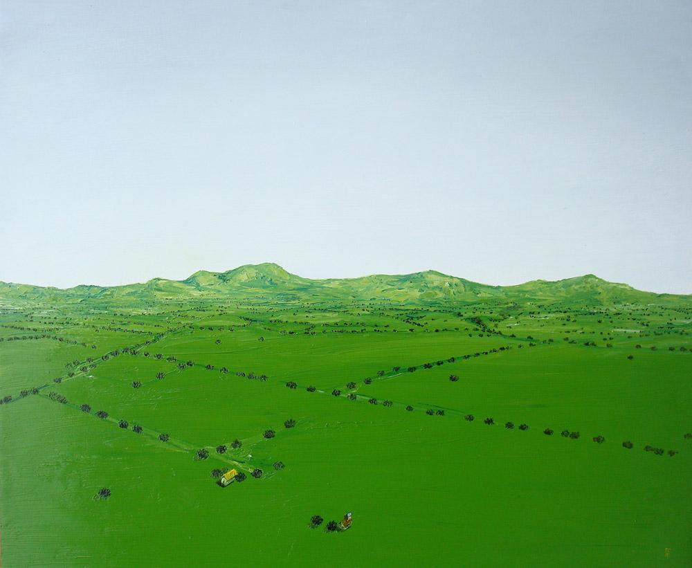 Días de lluvia, Sin Galeria, Manuel de Cisneros