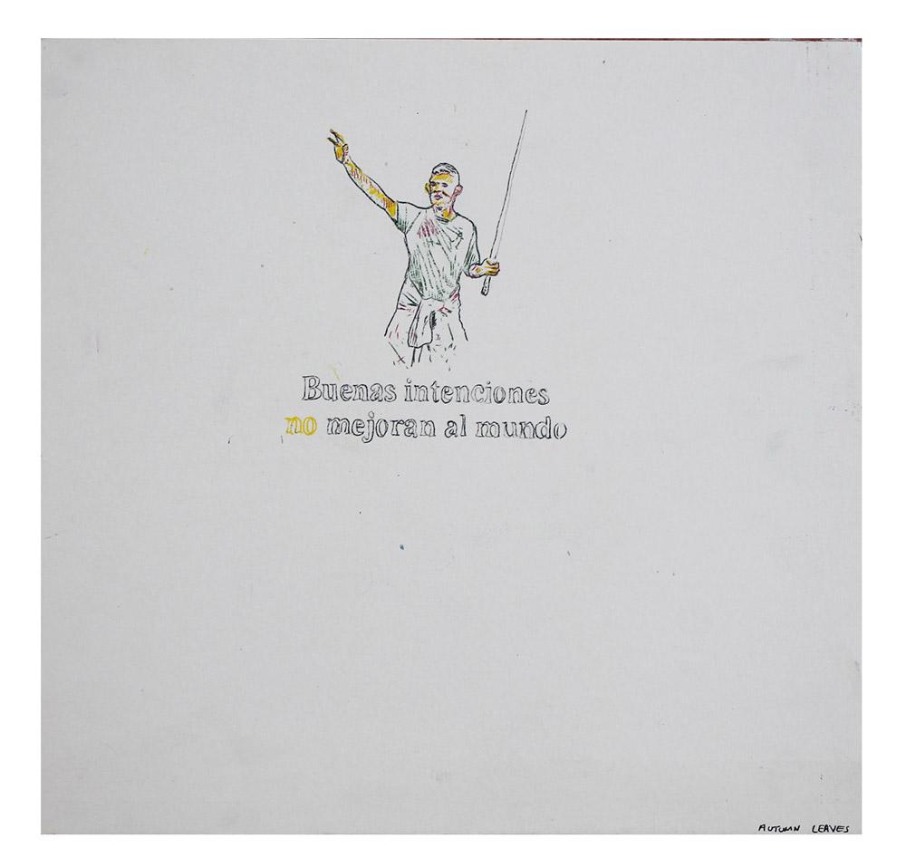 No, Sin Galeria, Rafael Luna