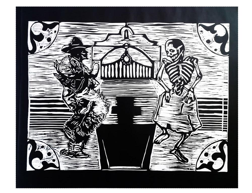 Danza a los cuatro vientos, Sin Galeria, Rafael Luna