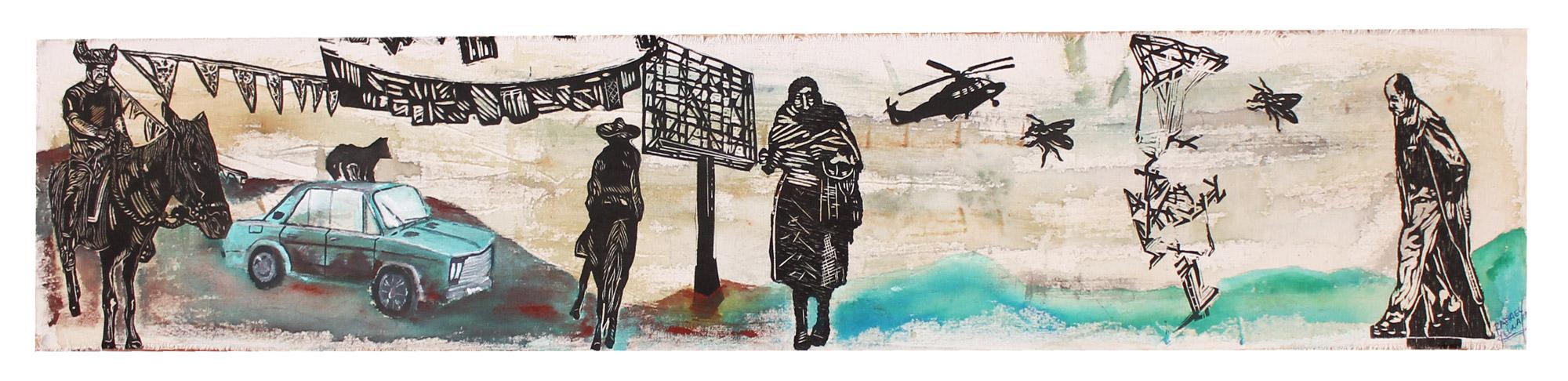 Paisajes extremos, Sin Galeria, Rafael Luna
