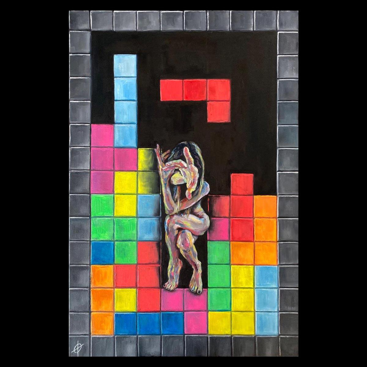 Tetris life, Sin Galeria, Lena Mitrofanova