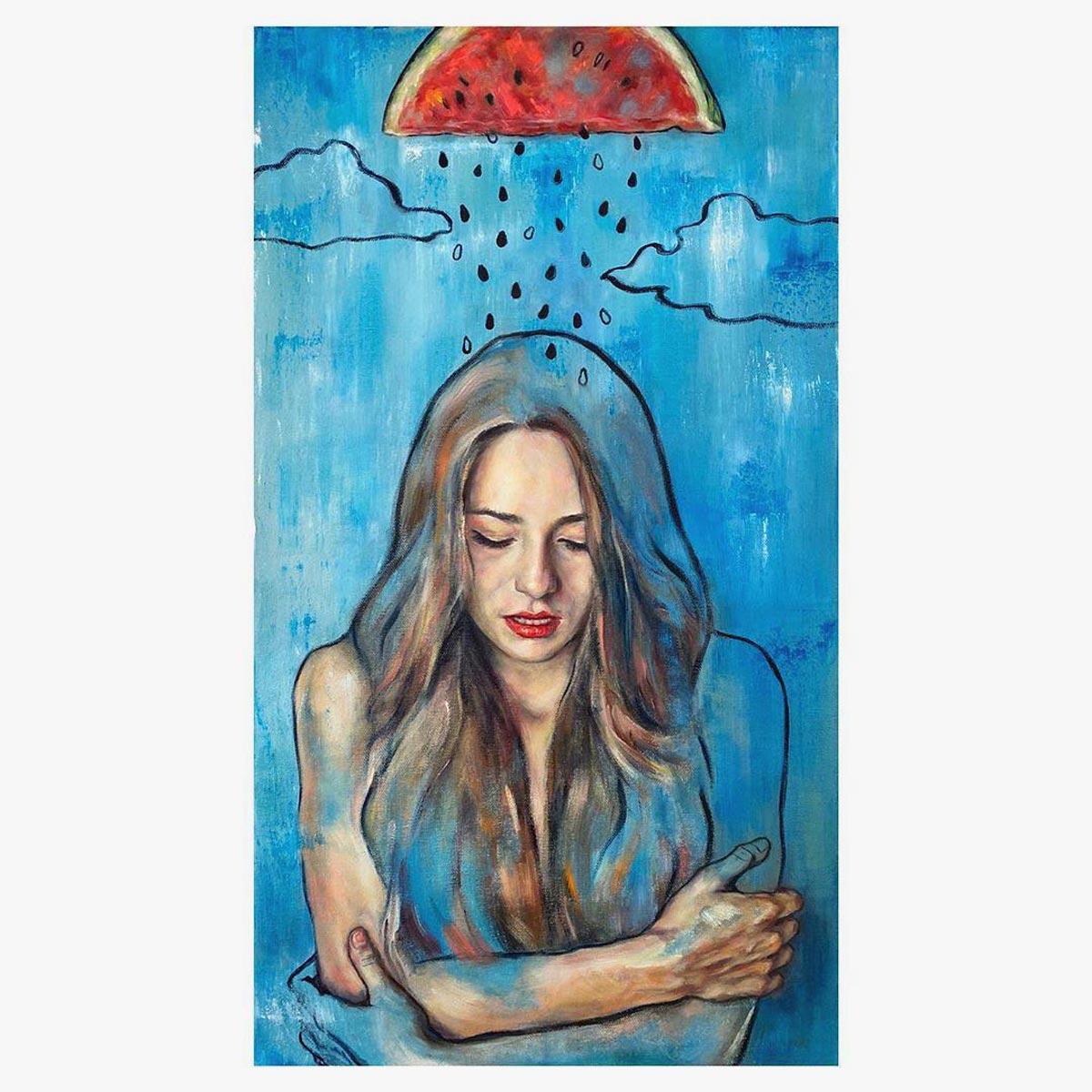 Sin Galeria, Watermelon rain