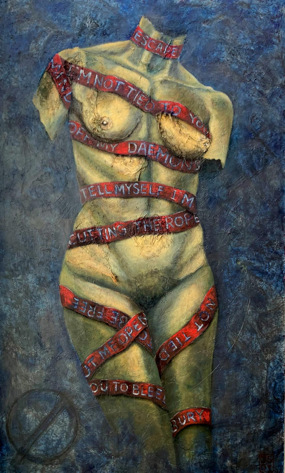 Sin Galeria, War Paint (Pintura de Guerra)