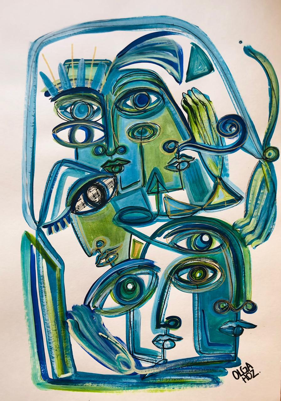 ALIANZAS, Sin Galeria, Olga Hernández