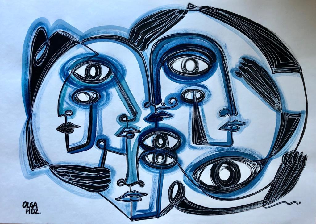 ENTRELAZADOS, Sin Galeria, Olga Hernández